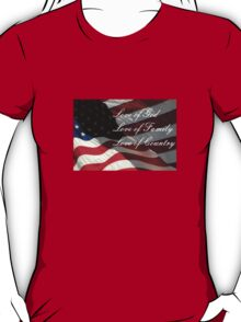 American Values T-Shirt