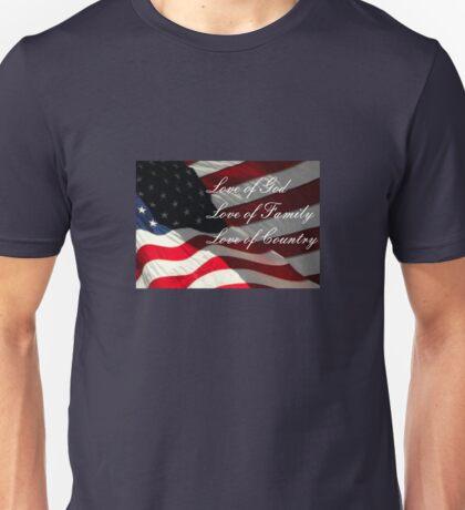 American Values Unisex T-Shirt