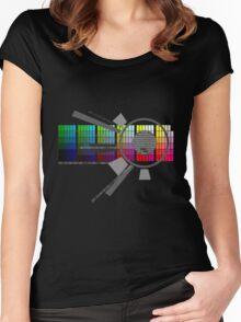 Digital Rainbow Women's Fitted Scoop T-Shirt