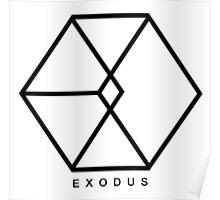 EXO - Exodus Logo Poster