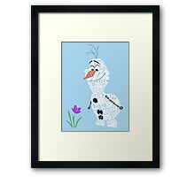 In summer Framed Print