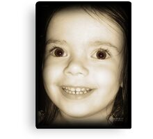 Those Lashes! Canvas Print