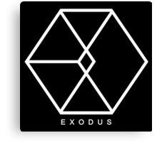 EXO - Exodus Logo 2 Canvas Print