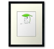 Little Totoro's friends Framed Print