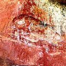 First frescoes. Australian Aboriginal Arts. Norhtern Teritory. by christopher  bailey