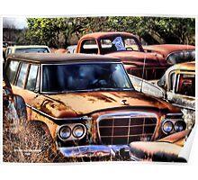 Old Ride ( BoneYard Series) Poster
