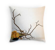 Ikebana-103 Throw Pillow