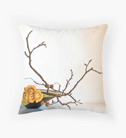 Ikebana-103 Throw Pillow
