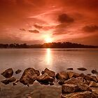 Red Sunset by izan0306