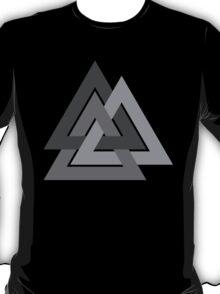 Valknut - Silver borromean VIKING SYMBOL T-Shirt
