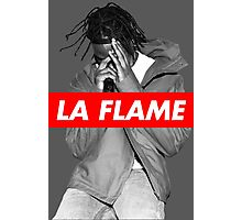 Travi$ Scott 'The Prayer' - BW/La Flame Photographic Print
