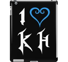 I Love Kingdom Hearts (White) iPad Case/Skin
