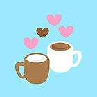 coffee and hot chocolate love by jazzydevil
