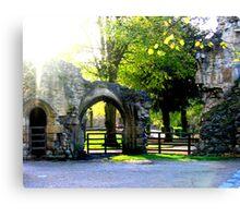 Knaresborough England, Castle Remains Canvas Print