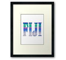 Fiji clouds Framed Print