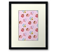 Cupcakes and Sprinkles Framed Print