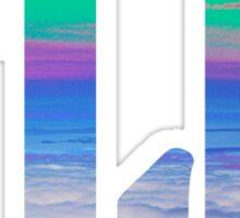 Fiji clouds Sticker