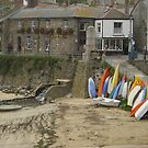 Mousehole, Cornwall by Jervaulx