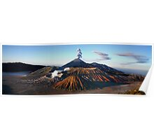 MT. BROMO PANORAMA - EAST JAVA  Poster