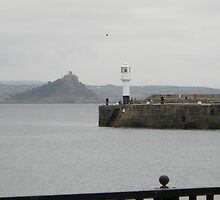 St Michaels Mount from Marazion by Jervaulx