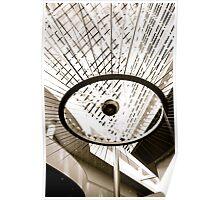 The Maxx Atrium Clock Poster