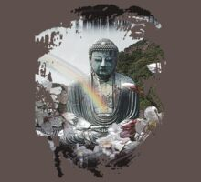 buddha rainbow by arteology