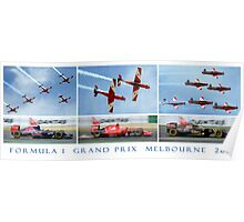 Formula 1 Grand Prix Melbourne 2015 Poster