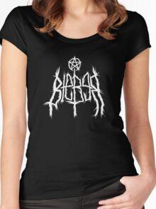 Justin Bieber Metal Shirt  Women's Fitted Scoop T-Shirt