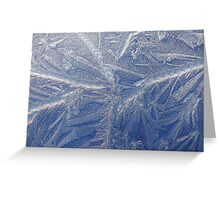 A painting by Jack Frost  (as is) Greeting Card