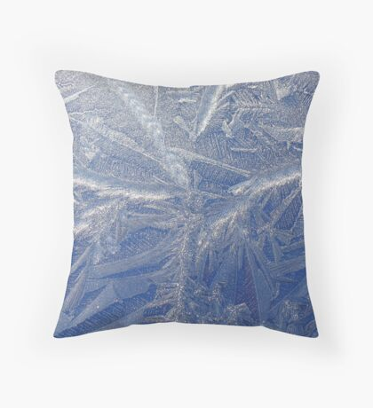 A painting by Jack Frost  (as is) Throw Pillow