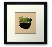 Eroded Composition | Eight Framed Print