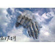 Hands in the sky Photographic Print