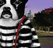 Boston Terrier Mime by derackm