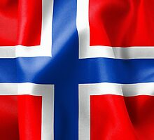 Norway Flag by MarkUK97