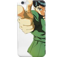 YUYU HAKUSHO - YUSUKE URAMESHI PRODUCTS iPhone Case/Skin