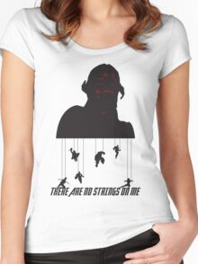 No Strings On Me Women's Fitted Scoop T-Shirt