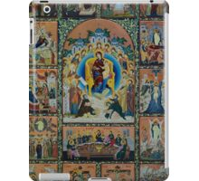 Adoration - Virgin Mary With Angels iPad Case/Skin