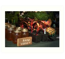Raw Honey Art Print
