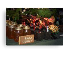Raw Honey Canvas Print
