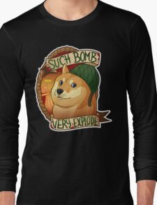 Bomb Doge (OFFICIAL) Long Sleeve T-Shirt