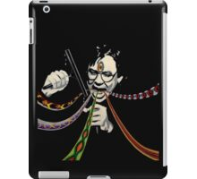 Bill Hicks third eye squeegee iPad Case/Skin