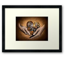 My Heart is in your Hands Framed Print