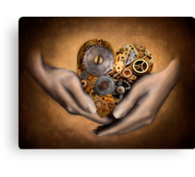 My Heart is in your Hands Canvas Print