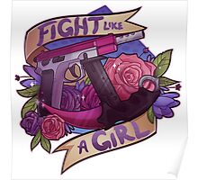 Fight Like A Girl (OFFICIAL) Poster