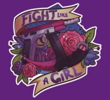 Fight Like A Girl (OFFICIAL) by vpuvd