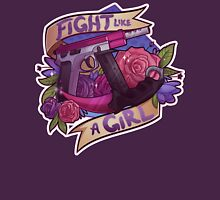 Fight Like A Girl (OFFICIAL) Womens Fitted T-Shirt