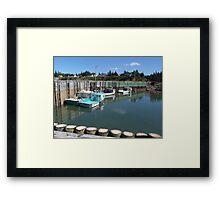Boats at Half-Tide Framed Print