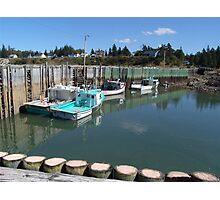 Boats at Half-Tide Photographic Print
