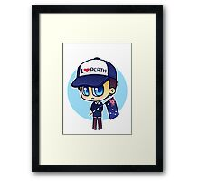 Rob (Does Not) Hate Perth Framed Print