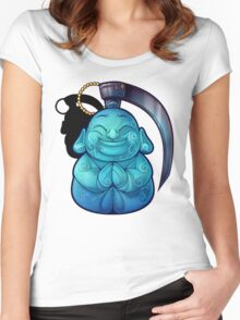 Buddha Bomb (OFFICAL) Women's Fitted Scoop T-Shirt